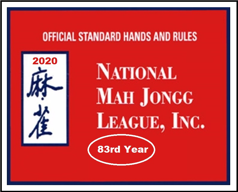 2020 National Mah Jongg League Cards