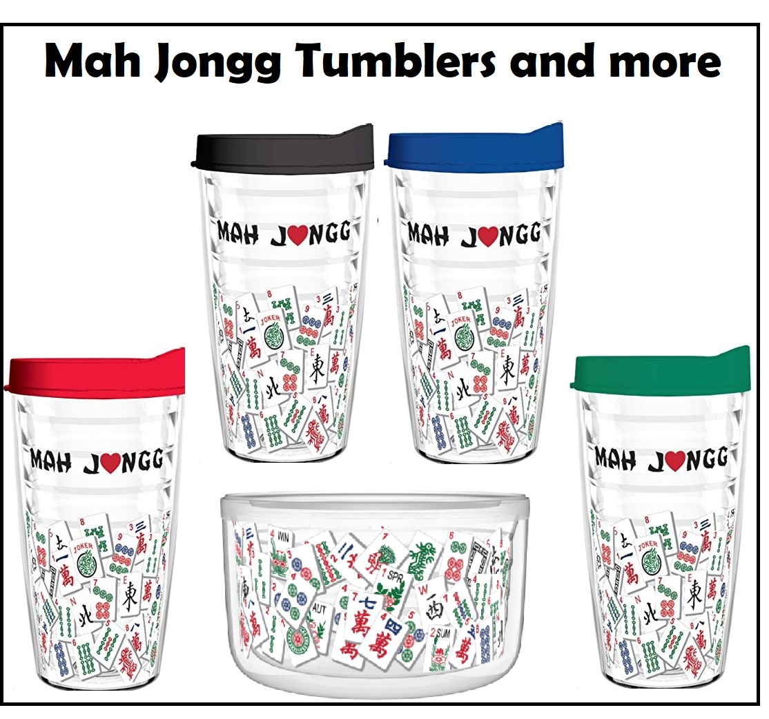 Mah Jongg Tumblers and More